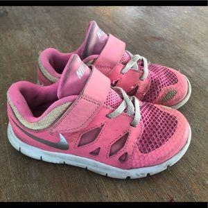Toddler Girls Nike size 10 shoes